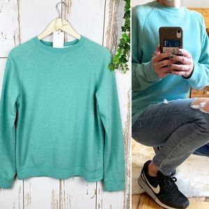Urban Pipeline Teal Basic Crew Neck Sweatshirt